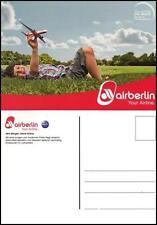 NEU AIR BERLIN POSTKARTE AIRLINE FLUGZEUG