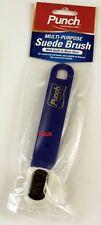 Punch Multi propósito de gamuza suave cepillo cepillo de zapatos Shine limpia Nobuck Limpieza 2107