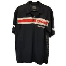 Troy Lee Designs Showa Racing Service Polo Shirt Men's Large Blue