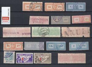 Switzerland Revenue Stamps, VALAIS CANTON