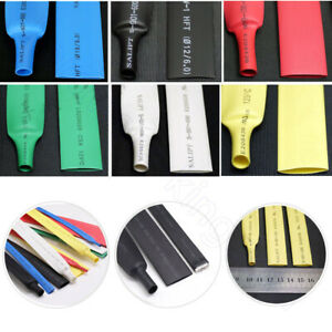 25 mm Heat Shrink 2:1 Heatshrink Tube Cable Wire Electrical Sleeving All Colour