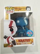 Funko pop vinyl figure #25 NYCC 2015 Kratos Exclusive BNIb Gods of War games