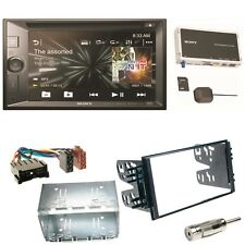 Sony XNV-KIT651 Navigation USB MP3 Bluetooth Einbauset für Kia Sorento JC Rio DC