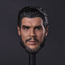 "1/6th Che Guevara Head Sculpt For 12"" Male Doll Figure Body Model Toy"