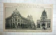 1909 The New Victoria And Albert Museum To Be Opened By The King