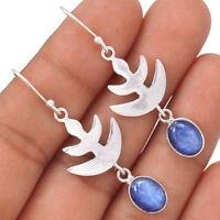 Kyanite 925 Sterling Silver Earrings Jewelry EE80899