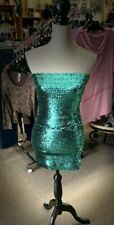 Green Sequin Tube Dress By JuJu & B. New in package