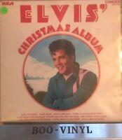 ELVIS PRESLEY - ELVIS' CHRISTMAS ALBUM UK VINYL LP 1970 RCA CAMDEN CDS1155 Ex+