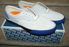 VANS Era Vault Lx Suede/Leather True Blue/Light Gray Shoes Mens Size 11.5