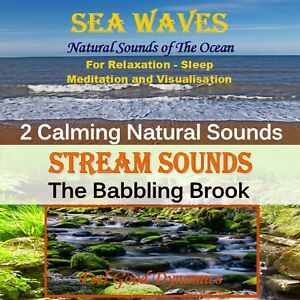 Sea Waves and Stream Sounds CD - Nature Sounds CD  Relaxation and Sleep Aid CD