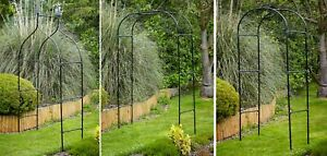 Metal Garden Arches - Archway Arbour Plant Rose Supports