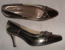 ANNIE GOLD & BRONZE PUMPS-3 1/4 INCH HEELS-SIZE 8 1/2W-NEW IN BOX