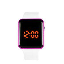 Fashion Silicone LED Men Womens Sport Watch Touch Digital Bracelet Wrist Watches