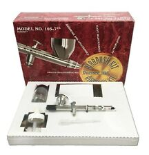 Badger 105-7 Patriot Gravity Feed Double Action Airbrush Kit with Hose