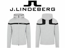 J.Lindeberg Grey Jeff Golf Hoodie **BRAND NEW FOR 2020/21**