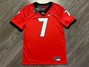 Nike Georgia Bulldogs Matthew Stafford #7 Men's S NCAA Player Game Jersey NEW