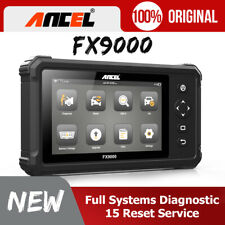 Ancel FX9000 OBD2 Car Diagnostic Scanner Tool Full System Automotive Scan Tablet