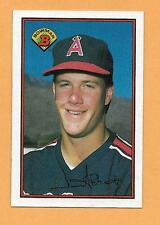 JIM ABBOTT RC BOWMAN 1989 CARD # 39