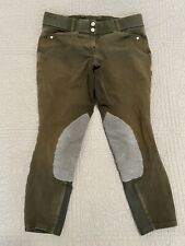 ARIAT Women's Knee Patch Breeches Riding Pants Heritage Equestrian 30 Regular