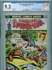 1973 MARVEL AMAZING SPIDER-MAN #117 JOHN ROMITA  CGC 9.2 OW-W BOX7