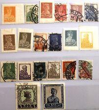 RUSSIA SOWJETUNION 1926 271-91 I B 304-25 IMPERF w/o 316 Kräfte Revolution */use