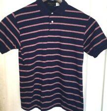 New listing Vtg HUNTLEY OF YORK Polo Shirt MENS XL/L GOLF Prep STRIPES Striped USA Ivy Style