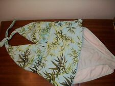 Sessa SZ 14 Tanking bamboo floral 2 piece blue green bathing suit