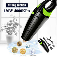 Portable Rechargeable Vacuum Cleaner Wet Dry Handheld Cordless 120W Car Home CHW