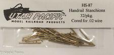 Utah Pacific: Ho-Scale #87 Handrail Stanchions 32/pkg.