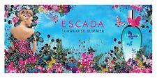 Escada Turquoise Summer 50 ml Eau De Toilette LTD EDITION GENUINE NEW & SEALED