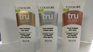New! Covergirl~Tru Blend Face Primer, You Choose! Free Shipping! TRUSTED SELLER!