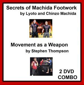 KARATE 2 DVD COMBOw/ Lyoto Machida AND Stephen Thompson mma ufc kenpo chinzo