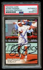 Roger Federer #11 signed autograph auto 2003 NETPRO Tennis Trading Card PSA Slab