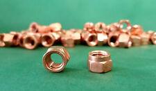 DIN 14440 / 14441 Auspuff Krümmer Schlitzmuttern Kupfermuttern M 6 - M 10 Kupfer