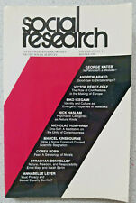 2000 SOCIAL RESEARCH An International Quarterly of the Social Sciences Vol 67 #4