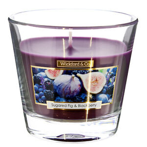 Wickford & Co Sugar Fig & Blackberry Scented Candles In Jar