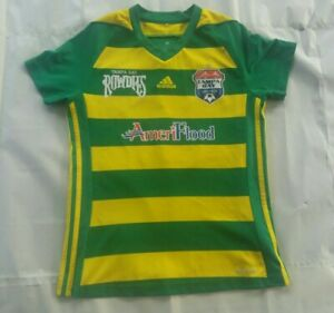Tampa Bay United Rowdies Adidas Youth Soccer Jersey Size S