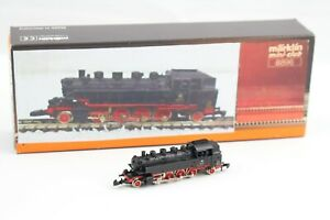 8896 Steam Locomotive Br 86 173 Märklin Mini Club Z Gauge With LED Boxed + Top+