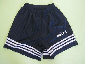 Short Adidas Vintage marine 90'S Retro Polyester ancien - 42 / M