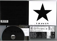 DAVID BOWIE Blackstar JAPAN 1st press DIGIPACK Blu-spec 2 CD SICP30918 w/OBI