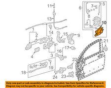 ACURA HONDA OEM Front Door-Lock Actuator 72155SDAA01