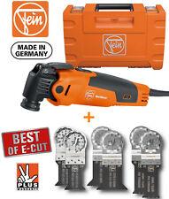 FEIN 110v FMM350QSL STARLOCK Multimaster Multi Tool + 6 x Wood & Metal Blade Kit