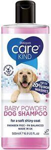 CAREKIND Baby Powder Dog Shampoo 500ml professional dog grooming shampoo