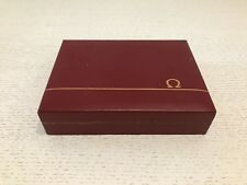 Estuche OMEGA Case - Vintage - Maroon Wood - Relojes Watches Montres Ω