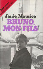 Livre Bruno mon Fils Janie Maurice  Book