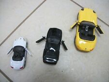 WELLY 94 FORD MUSTANG GT, BMW Z8, AND PORSCHE BOXSTER