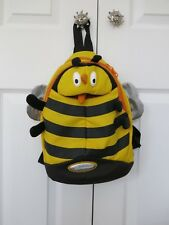 Girls Boys Unisex Samsonite Sammies Backpack Dipsy3 Bee, Excellent condition