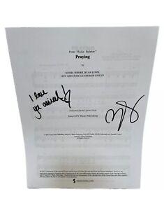 *Printed* *SIGNED & 'I Love You Animal'* Praying Sheet Music
