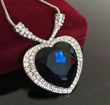 Messing Modeschmuck-Halsketten & -Anhänger mit Herz-Schliffform für Damen