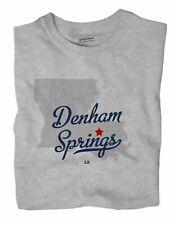 Denham Springs Louisiana LA T-Shirt MAP